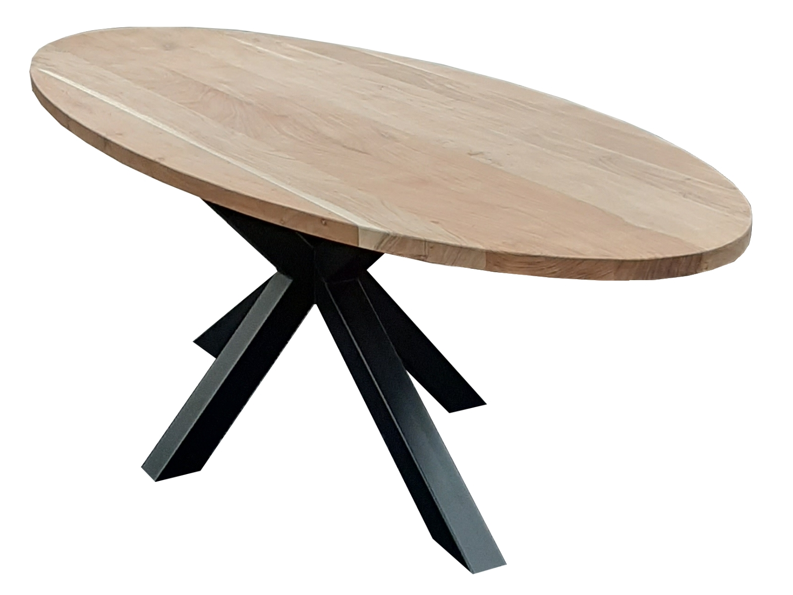 ovale acacia tafel