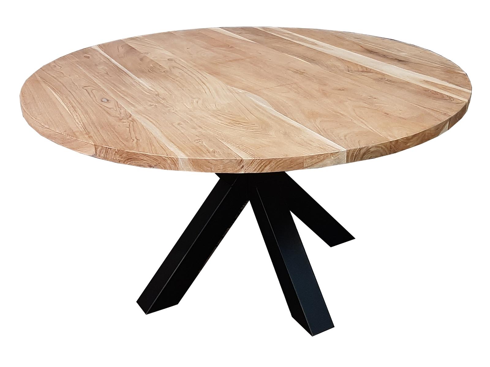 ronde acacia tafel